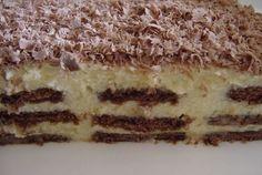 kremes-csokolades-varazs-sutes-nelkul-10-perc-alatt-elkeszitheto Good Food, Yummy Food, Hungarian Recipes, Hungarian Food, No Bake Cake, Tiramisu, Breakfast Recipes, Food Porn, Muffin