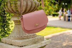 Leather Crossbody Bag, Leather Bag, Photo Bag, Mini Purse, Saddle Bags, Messenger Bag, Purses, Pink, Women