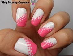 Do you want to try your hand at DIY nail art but where do you begin? First of all you need to do is get a hold of some fundamental nail art tools. Gel Nail Art Designs, Simple Nail Art Designs, Pink Nail Art, Pink Nails, Nail Art Hacks, Nail Art Diy, Nails Only, Polka Dot Nails, Pretty Nail Art