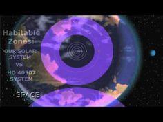 """Uma planeta """"Super-Terra"""" recém descoberto encontra-se na """"Goldilocks Zone"""", isto é, no local certo e apropriado para suportar água em estado líquido. O planeta reside num sistema solar que contém seis planetas que orbitam uma, pequena, estável e idosa estrela a 44 anos-luz de distância."""
