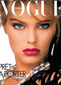Renée Simonsen, Vogue Paris, February 1983. Photo Albert Watson