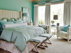 one of my favorite colors - turquoise!