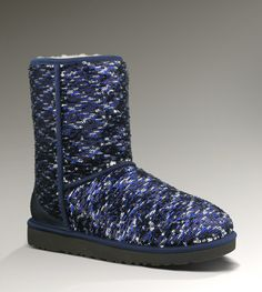 UGGs Sparkles Blue