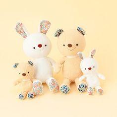 博客來-【Afternoon Tea】15'原優子LIBERTY兔子玩偶 16CM