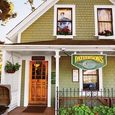 Dream Town: Mendocino, CA. Residents flock to lively Patterson's in the village for pints and pub grub such as fish-and-chips and British bangers. Coastalliving.com