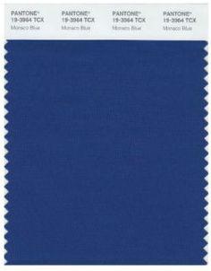 Monaco Blue Is Pantone's Top Color for Spring 2013