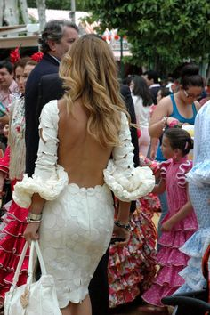 Abril´s Fair in Seville (Andalusia, Spain) Love Fashion, Fashion Outfits, Womens Fashion, Dress Skirt, Dress Up, Spanish Fashion, Looks Style, Mode Style, Beautiful Dresses