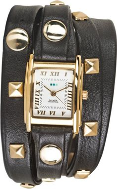 LA MER PYRAMID STUD WRAP WATCH  http://www.swell.com/LA-MER-PYRAMID-STUD-WRAP-WATCH?cs=BL