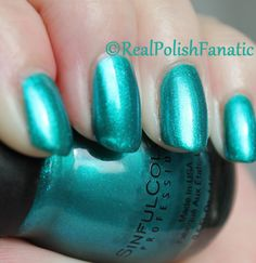 Jade Kat Sinful Colors Nail Polish, Nail Colors, Swatch, Jade, Manicure, Make Up, Notes, Random, Maquillaje