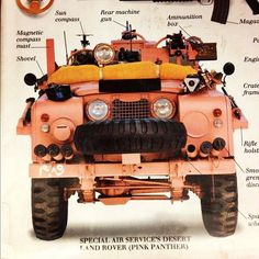 SERIES 2A ( PINK PANTHER) as used by the early SAS in WWII. Just perfect for the adventurous, desert loving English Gentleman