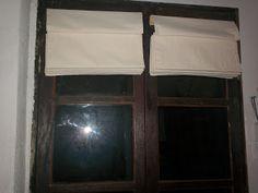 Olá, hoje vou mostrar o passo a passo que eu seguí para confeccionar a cortina romana da porta da sala daqui de casa.  Só que na minha, colo...