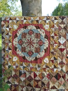 Quilting Jeanette's lovely result