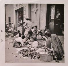 El Mercado de Toluca  8/6/54 #Mexico #found http://en.wikipedia.org/wiki/Toluca   http://en.wikipedia.org/wiki/Traditional_fixed_markets_in_Mexico