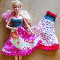 Schnitte fur barbie kleider
