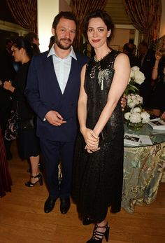 Dominic West and Rebecca Hall