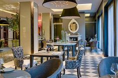Melrose Arch Hotel Arch Hotel, Melrose Arch, Restaurant Interior Design, Africa Travel, Indoor, Boutique Hotels, Table Decorations, Furniture, Unique