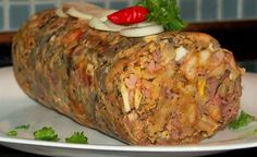Slovak Recipes, Meatloaf, Preserves, Baked Potato, Food And Drink, Appetizers, Turkey, Homemade, Ethnic Recipes