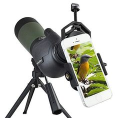 Binoculars & Telescopes Binocular Cases & Accessories Carson Hookupz 2.0 Universal Smartphone Optics Digiscoping Adapter For Attractive Fashion
