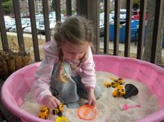 Sensory Play: This has lots of good sensory play ideas, a few that I've not seen. I like the kiddie pool idea with rice.