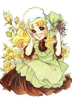 Candice White Andre by Yumiko Igarashi color sleeve ✤ キャンディキャンディ