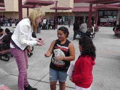 Kara Aubrey's Fall 2012 High School Campus Tour - this is Murrieta High High! www.KaraAubrey.net