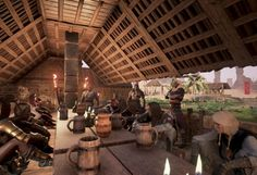 Conan Exiles - Region-Lock wird durch Ping-Filter ergänzt - #conanexiles #conan #OpenWorld #funcom #survivalgame #gaming #games #videospiele Portal, Conan Exiles, Architecture Building Design, Survival, Gaming, Conan The Barbarian, Battle Royale, Red Sonja, Fantasy Artwork