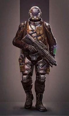 Tax is wearing Body Blocker armour under a Spook light coat in Kobicha Brown. He is weilding a CAF Wild Boar Rifle. Boots by Door Kickers.