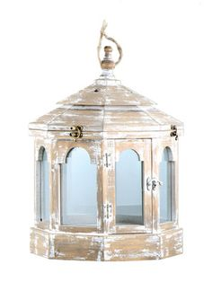 large lantern, great with white lit candles