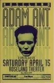 Gig poster Concert Posters, Gig Poster, Ant Music, Adam Ant, Tour Posters, Get To Know Me, Beautiful Eyes, Ants, Writer