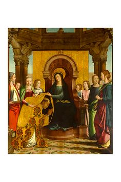 Juan de Borgoña (c. 1470–c. 1534),  The Investiture of Saint Ildefonsus (La casulla de San Ildefonso), 1508–1514  on ArtStack #juan-de-borgona-c-1470-c-1534 #art