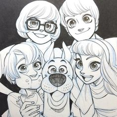 Scooby-Doo art