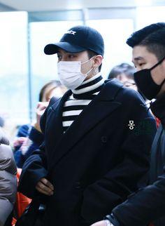 "fckyeahgdragon: "" 151231 G-Dragon at Gimpo Airport going to Beijing DO NOT EDIT : Source: @GDREIRA """