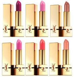 YSL lipstick/gloss/balm - the best all worlds - shiny & it lasts.