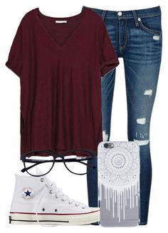 """""""»»»Sounds of Love«««"""" by mallorimae ❤ liked on Polyvore featuring rag & bone/JEAN, Zara and Converse"""