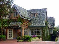 Quaint houses in Carmel-by-the-Sea, CA
