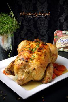 Pieczony w całości kurczak faszerowany Brunch, Polish Recipes, Polish Food, Food Crafts, Poultry, Food Porn, Turkey, Low Carb, Roast