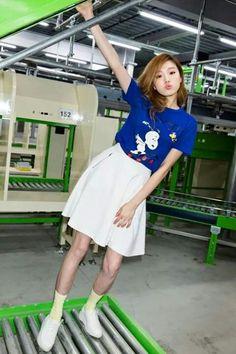 lee sung kyung and model image Ulzzang Fashion, Ulzzang Girl, Korean Street Fashion, Asian Fashion, Kim Book, Skirt Fashion, Fashion Outfits, Lee Sung Kyung, Weightlifting Fairy Kim Bok Joo