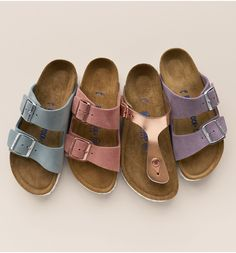 09b466934dc5 Birkenstock Arizona Birko-Flor Soft Footbed Slide Sandal (Women)