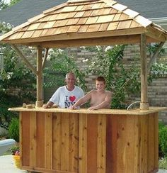 tiki bar frame - Google Search:
