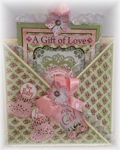Nikki's Crafting Creations: 'It's a Girl' Heartfelt Creations Wednesday