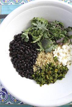 Quinoa Salad with Roasted Poblanos and Black Beans   Eat • Drink • Garden • Santa Barbara, California