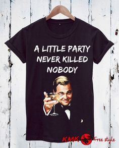 Wolf of Wall street T-shirt / Party Tee / Cocaine Tshirt / T shirt all sizes - XS, 5XL / Loose T-shirt / Slim Fit Tshirt by KMKDIGITAL on Etsy Quote Tshirts, Wolf Of Wall Street, A Little Party, Celebrity, Slim, T Shirts For Women, Trending Outfits, Tees, Quotes