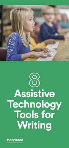 Assistive technology (AT) can be a big help to kids who struggle with different types of writing challenges. There are AT tools that can make the physical act of writing easier. AT can also help kids who have trouble with spelling and grammar, and with organizing and expressing their thoughts.