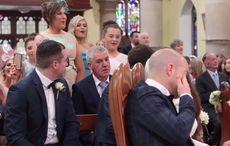 IrishCentral - Your daily source for everything Irish | IrishCentral.com Dance Floor Wedding, Wedding Songs, Lord Of The Dance, Surprise Wedding, Irish Wedding, Irish Dance, Stand By Me, Newlyweds, First Love