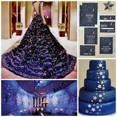 Starry Night Theme | Quinceanera Ideas | Quinceanera Cakes |