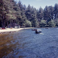 Photos from my mothers summer vacation in Bridgton, Maine, 1965.     Rest-A-Bit Cottage on North Pond in Maine FOR RENT -CLICK ON THE PICTURE ABOVE ^^^