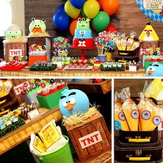 10 Ideas for 3 Year Old Birthday Celebration Party 10 Ideas for 3 Year Old Birthday Celebration Partyfeel free to contact us contact especialz Ideas for 3 Year Old Birthday Celeb Bird Theme Parties, Bird Birthday Parties, 5th Birthday Party Ideas, Bird Party, Kids Party Themes, Birthday Fun, Birthday Celebration, Cumpleaños Angry Birds, Festa Angry Birds