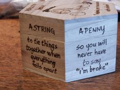 Anti-Depression Kit pyrography box by HecticEclecticUK on Etsy