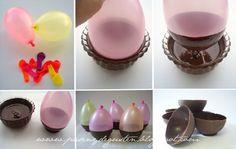 cuencos chocolate globos - Buscar con Google