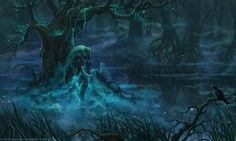 Swamp by LouieLorry on DeviantArt